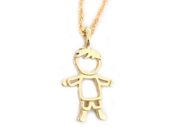 Sweet boy pendant new baby necklace gift new born boy gold boy baby pendant child pendant boy pendant with a diamond new baby necklace gift new born boy pendant newborn gift aloadofball Gallery