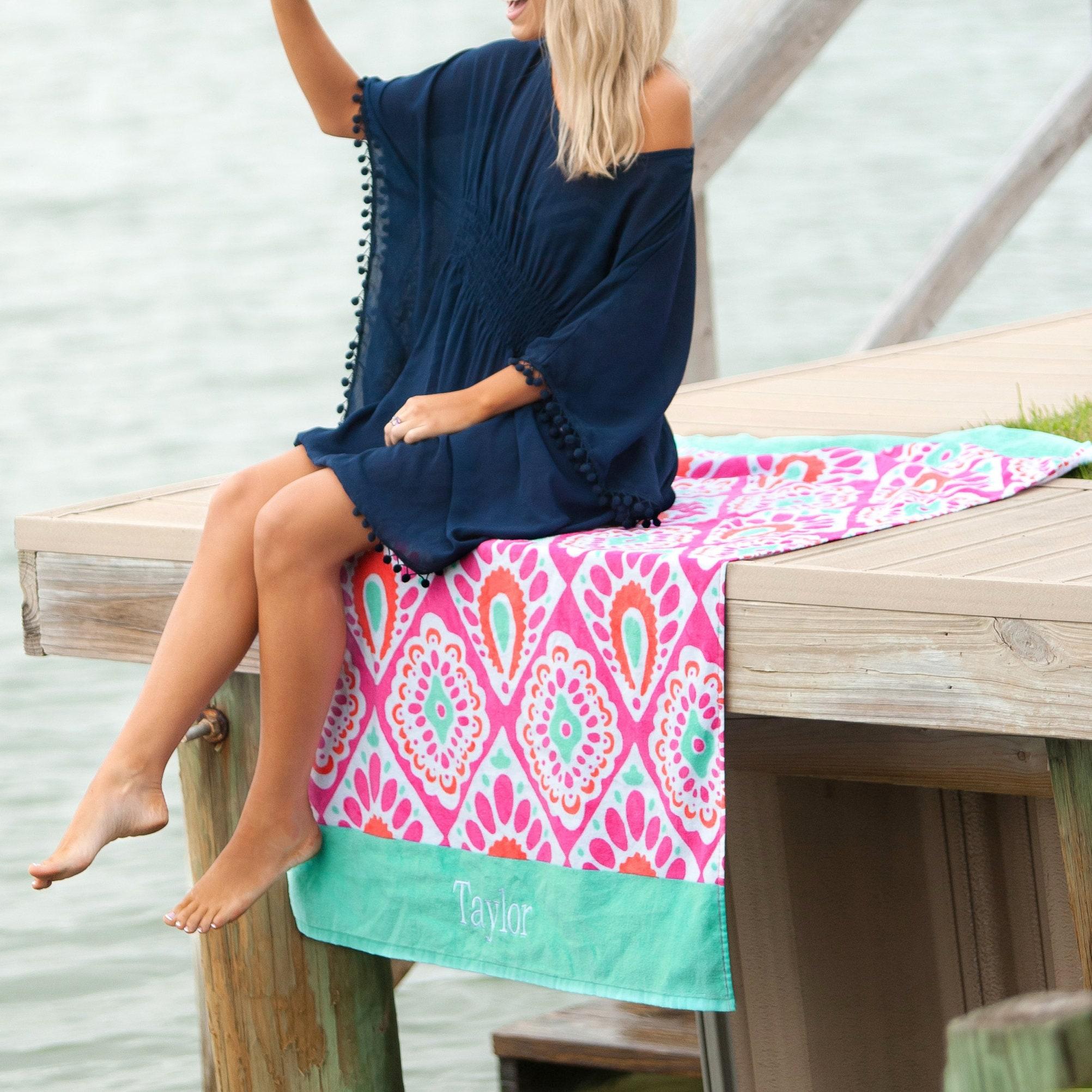 beach bath towels hot air balloon applique beach towel bath towel personalized  beach towels bath canada .