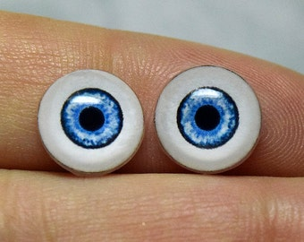 NEW! Doll eyes 10mm AD color Blueberry