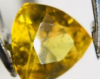 Yellow Sapphire 0 95ct