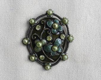 Vintage Green Pendant