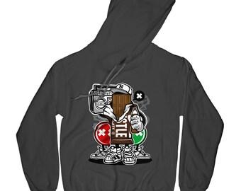 Chocolate hoodie funny hoodie squad goals hoodie urban hoodie funny sweather pullower with sayings grafitty hoodie  APV50