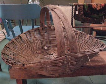 Very Old Gathering Basket