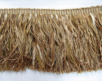 Antique Golds 4 inches long fringe
