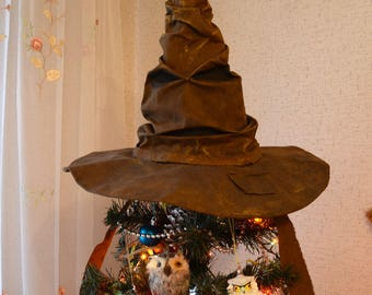 Sorting Hat Harry Potter, Christmas, New Year, birthday, holiday,Halloween, Wizard hat, Hair Accessories, Pottermore sorting, gift, hogwards