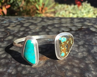 Reverse cuff with Nevada turquoise