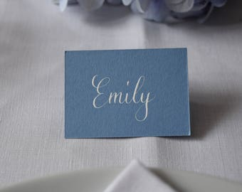 Wedgewood Blue Place Cards