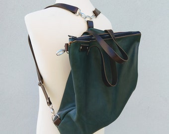 4 in 1 Convertible backpack bag