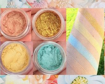 NEW! Spring Eyeshadow Palette- All Natural, Vegan Eyeshadow and Eyeliner Makeup. Cruelty Free Cosmetics.
