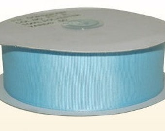 1.5 inch x 25 yds Grosgrain Ribbon  - LT BLUE