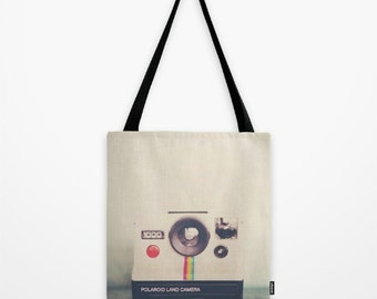 vintage camera tote bag market tote vintage camera photograph photo bag book bag vintage camera print camera book bag
