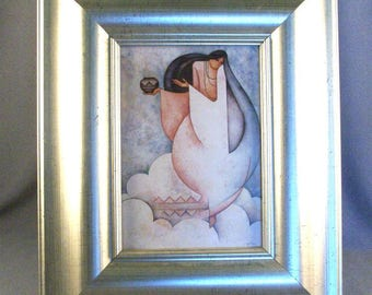 Exeptional Silver Picture Frame // Rich Looking // Avant Garde // Luxurious // Refined // Vintage // Impressive