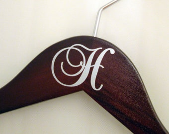 Monogram Decal Addition - Custom Personalized Hanger Add-On - Suspended Moments