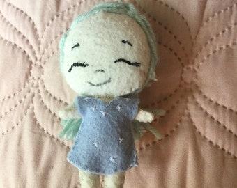Little Felt Doll