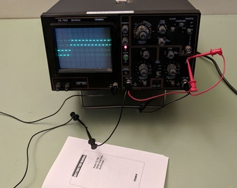 Tenma 72-720 20Mhz oscilloscope, manual and probes