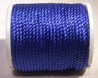 Spool of thread nylon 1 mm x 10 m Navy Blue