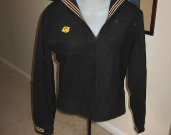 WWII Navy Enlisted Man Top and Hat