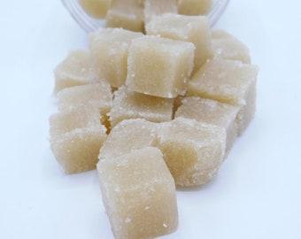 Creamy Coconut Sugar Scrub Cubes, Sugar Scrub