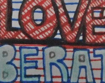 Liberation sticker