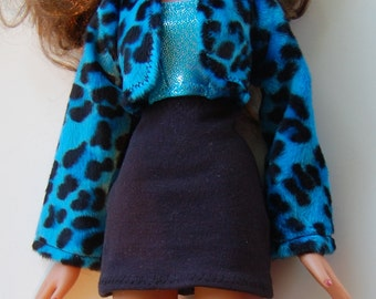 "PDF Pattern -  - 24"" Big Bratz Jacket, Skirt, Top- make it yourself"