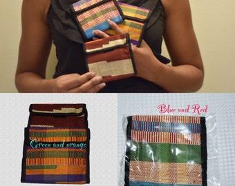 Kente wallet,Wallets and money clips, Ankara Wallets, African Print Wallet, Wallets, Ankara Purse,African Print Purse, Print wallet