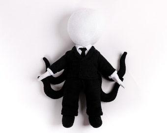Slenderman Handmade Soft Toy Plushie