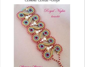 "TUTORIAL ""ROYAL NIGHTS"" bracelet"