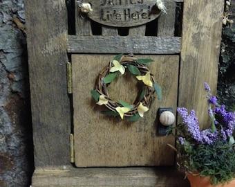 Fantasy Fairy Door,Fairy Door,Tooth Fairy Door,Rustic Fairy Door,Fairy Garden Door,Wooden Fairy Door,Hobbit Door,Miniature Fairy Door