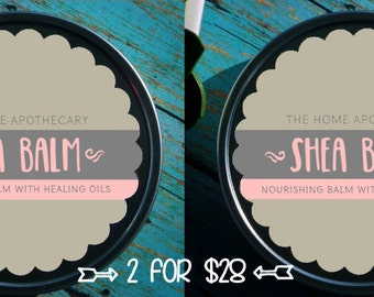 SALE! (2) Topical Steroid Withdrawal 8oz tins for 28 = Shea Balm