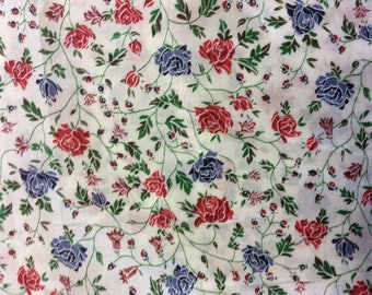 Tana lawn fabric from Liberty of London, Williams.