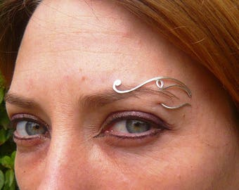 """Elvish"" Silver original arcade piercing"