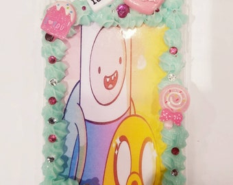 Adventure time iPhone X Decoden case