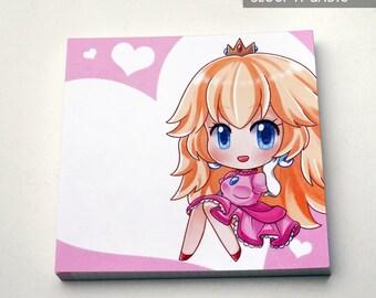 Princess Peach Memopad