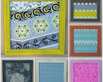 Bulletin Board ,Magnetic  Make your own Fabric Magnetic Bulletin Board size 15x15