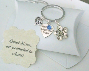 Gift For New Aunt, Pregnancy Announcement, New Baby, Baby Announcement, The Best Sisters Get Promoted To Aunt, Aunt To Be