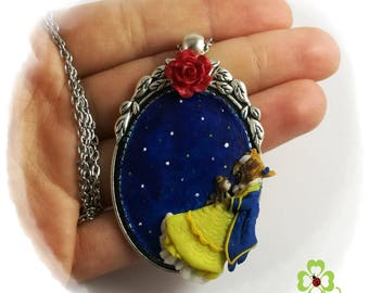 Beauty and the Beast, necklace