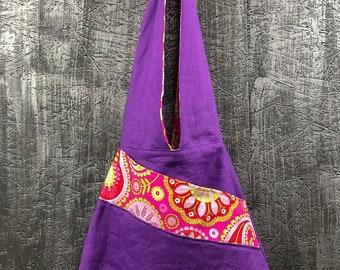 Linen & cotton Michael Miller Cloé bag