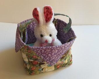 Easter Basket // Easter Egg Holder // Last Minute Easter Gift To Mom // Kid's Easter Table Dinner // Spring Basket // Egg Carrier