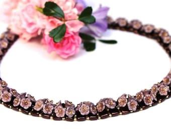 "Necklace ""Sweety"" Flowers classic Elegant"
