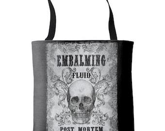 Embalming Fluid Tote Bag