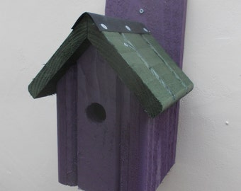 The 'Classic' Bird Nesting Box - Henry's Bird Boxes, Handmade in Wales