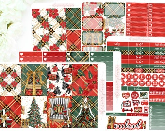 PREORDER | HOLLY JOLLY | 6 Page Sticker Kit | ECLPVertical