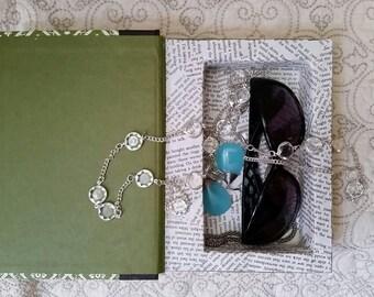 Secret Book Box, Book safe, Hollow Book, Book treasure box, Altered book art, Vintage, Birthday, Wedding, Gift box, Jewelry Box, Green