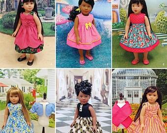 "Sewing Pattern 18 inch Doll Dress Pattern, 18 inch Doll Sundress Pattern, 18"" Doll Clothes Pattern, Simplicity Sewing Pattern 1220"