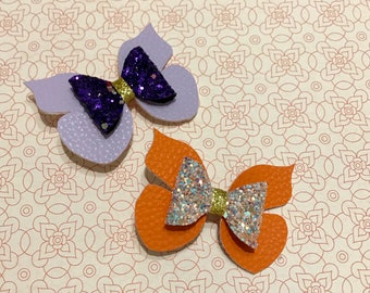 Medium Glitter Butterfly Hairclip