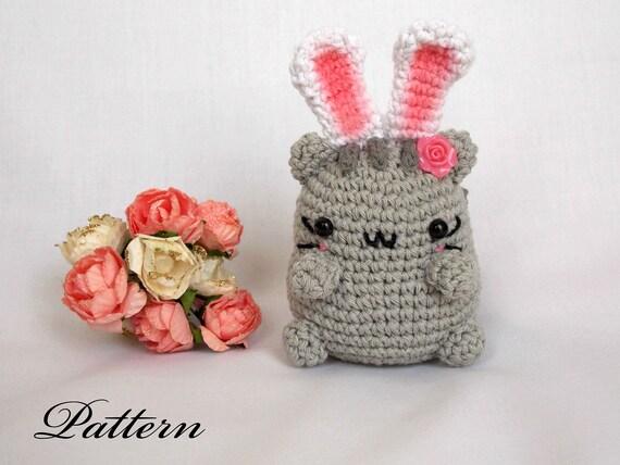 Amigurumi Bunny Ears : Free shipping crochet bunny rabbit amigurumi bunny