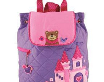 Stephen Joseph Princess Quilted Backpack  (Name or initial included)