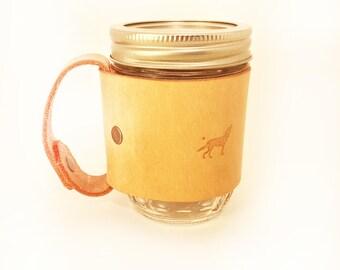 Mason Jar mug (mini) 8oz