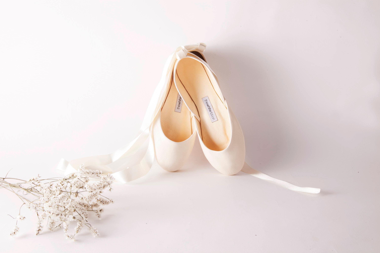Ballerina Brautschuhe, Ballerinas als Brautschuhe, Ballerinas