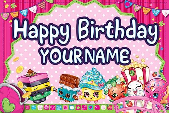 This is an image of Gargantuan Shopkins Birthday Images